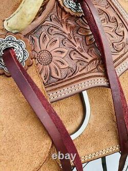 10- Cisco Kid WildStar Saddle Co. Tooled- Western Saddle, Ranch, Cowboy, Youth