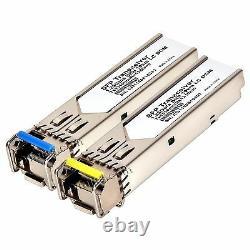 10km BiDi SFP 1G. LC. 10 km WDM Bi-directional GLC BX-U/D BX10 A/B -5 pair