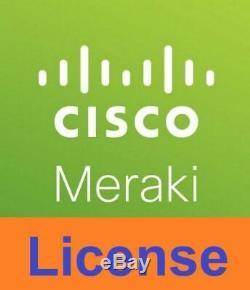 3 Year Cisco Meraki Enterprise Cloud Controller License LIC-ENT-3YR MR20 33 42