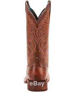 Ariat Women's Circuit Cisco Kickin Cocoa Cowgirl Boot Square Toe 10025021