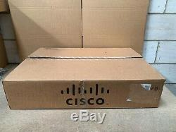 BRAND NEW OPEN BOX CISCO NEXUS N9K-C9372TX SWITCH 48X 10GB RJ-45+6x QSFP+ Ports