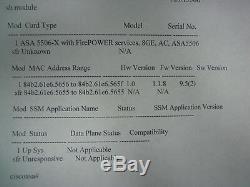 Brand New Cisco ASA5506-SEC-BUN-K9 Security Plus, Unl Users, 50 VPN V04 HW