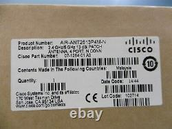 CISCO AIR-ANT2513P4M-N Patch Antenna 4 Port 2.4GHz / 5GHz BRAND NEW SEALED