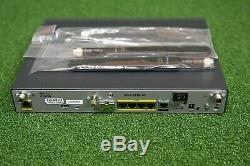 CISCO C881G-4G-GA-K9 881G Secure Router 4G LTE/HSPA + 4G Antennas 1YrWty