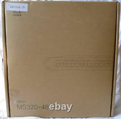 CISCO MERAKI MS320-48LP CLOUD MANAGED 48P SWITCH 48 ports