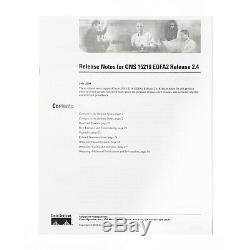 CISCO ONS 15216-EDFA2-A Metro Erbium Dopped Fiber Amplifier 17dBm with SNMP, Rev 2