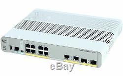 CISCO WS-C2960CX-8TC-L Cisco Catalyst 2960-CX 8 Port Data Lan Base