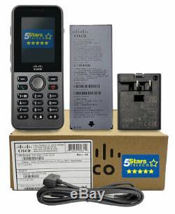 Cisco 8821 Wireless IP Phone, Battery, & Power Bundle (CP-8821-K9-BUN) Brand New