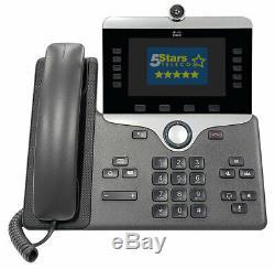 Cisco 8865 IP Phone (CP-8865-K9=) Brand New, 1 Year Warranty