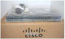 Cisco Catalyst 2960X-48TD-L Managed Switch