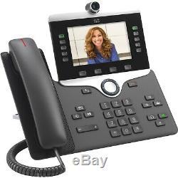 Cisco IP Phone video digital camera Bluetooth P/N CP-8865-3PCC-K9=