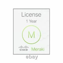 Cisco Meraki MX64 1 Year Advanced Security License & Support LIC-MX64-SEC-1YR