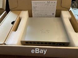Cisco Meraki mx64 mr33 ms120-8lp CMNA 3 Year License Unclaimed Stack