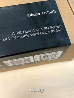 Cisco RV345 wired router Black RV345-K9-G5