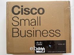Cisco SG300-10MPP 10 Port Gigabit Max PoE+ Managed Switch New