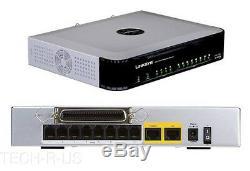 Cisco SPA8000-G1 8-Port Telephony Gateway 8 x, 1 x WAN 100 Mbps -VoIP Gateway