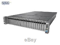 Cisco UCS C240 M4 24 CORE 2X E5 2650 V4 64GB (2X32GB) 2X 1200W SFF BC2 Server