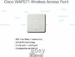 Cisco WAP571 -Wireless-AC/N Premium Dual Radio Access Point PoE (WAP571-E-K9)