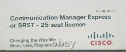 Cisco communication manager express or srst 25 seat license fl-cme-srst-25