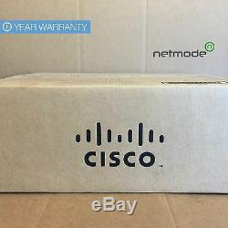 FACTORY SEALED Cisco ISR4351/K9 Router 4351 NOT AFFECTED BY CLOCK 1YEAR WARNTY