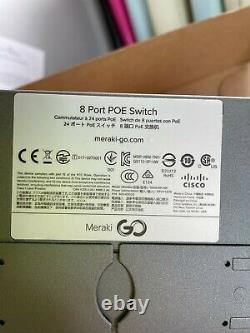 GS110-8P-HW-UK Meraki Go 8 Port Network Switch GS110-8P with 67W PoE