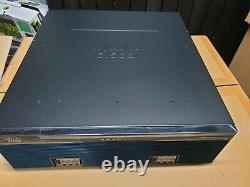 Genuine Cisco CISCO3945-SPE/K9 plus Cisco SM-D-ES3G-48-P service module 1 YrWty