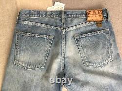 Kapital Jeans New Size 34 Monkey Cisco 2 Year Wash