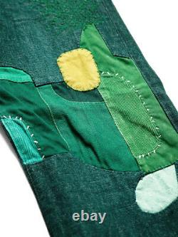 Kapital NO. 4 Kusaki Denim 5P Monkey CISCO BONSAI Green with 3 size