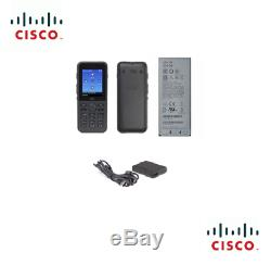 NEW CP-8821-K9-BUN Cisco CP-8821 Wireless IP Phone Battery and Charger Bundle
