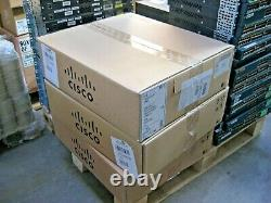 NEW Cisco Catalyst 2960-S Series 48 Port PoE 4 SFP Port Switch WS-C2960S-48FPS-L
