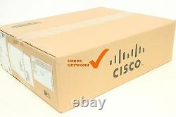 NEW Cisco ISR4451-X/K9 ISR 4451 PoE 4 Port Wired Router IP BASE