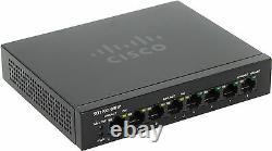 NEW Cisco SG110D-08HP-EU Network SWITCH 8-Gigabit PORT 1000Mbps Ethernet LAN PoE