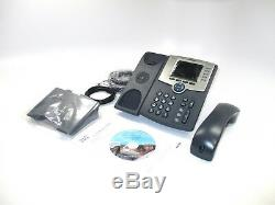 NEW Cisco SPA525G2 IP VoIP Telephone PoE Color Display