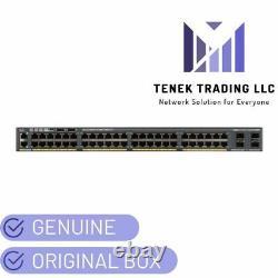 NEW Cisco WS-C2960X-48FPD-L Catalyst 2960-X Series 48 PoE Port Switch 2 x SFP+