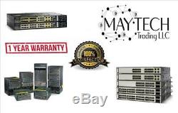 NEW Cisco WS-C3750X-48P-S 3750X 48 Port PoE IP Base Switch