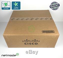 NEW Original Cisco WS-C3850-48U-L 48 Port Full PoE+ Switch 1100WAC 3850 LAN Base