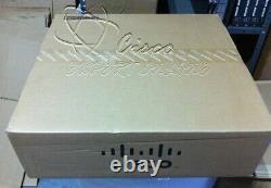 NEW SEALED Cisco WS-C3750X-24P-S 24 Ethernet PoE+ Single Power with C3KX-NM-1G