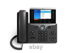 New Cisco CP-8841-K9 Unified IP VOIP Colour Display Telephone Phone 8800 Series