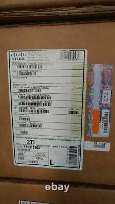 New Cisco FC32-48 DS-X9648-1536K9 32GB 48 port FC blade P/N 68-5868-03