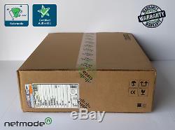 New Cisco WS-C2960X-24PS-L 24 Port 4 SFP GigE PoE Switch LAN Base 370W AC