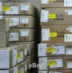 New Cisco WS-C2960X-48FPS-L 48 GigE PoE 740W, 4 x 1G SFP, LAN BASE Switch
