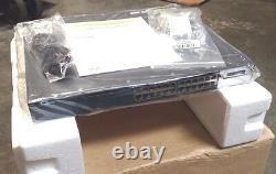 New Cisco WS-C3560X-24P-L 24 Port POE Gigabit Switch in Open box