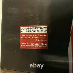 Steely Dan Aja LP SEALED! 30th Ann All Analog HQ-180 Ltd Ed S/N #2720 Cisco