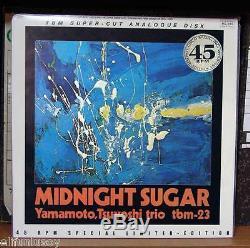 Yamamoto Trio Midnight Sugar TBM-23 / 45 rpm Three Blind 2LP Ultra Sound Quality